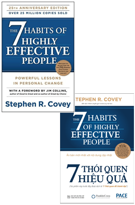 Combo Song Ngữ The 7 Habits Of Highly Effective People – 7 Thói Quen Hiệu Quả