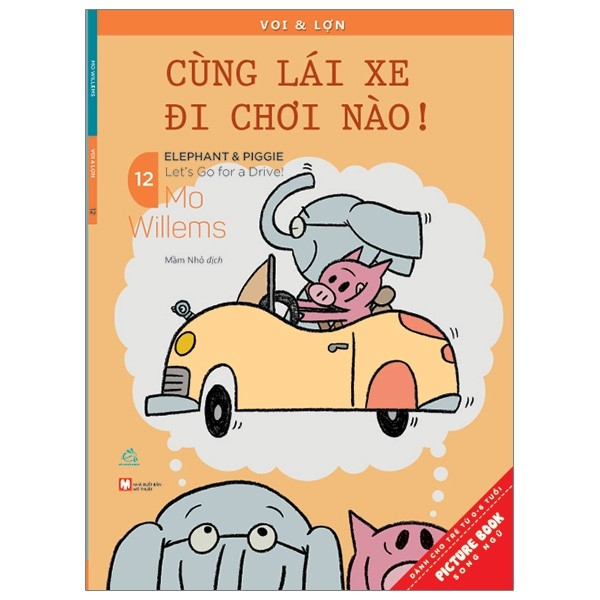 voi & lon -tap 12 - cung lai xe di choi nao - let'sgo for a drive!