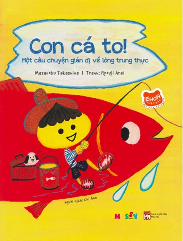 ehon - doc cho be nghe - con ca to