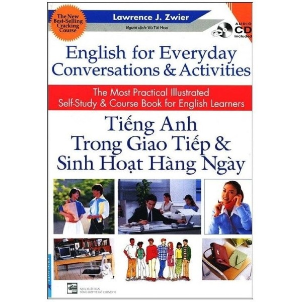 combo english for everyday conversations & activities - tieng anh trong giao tiep & sinh hoat hang ngay (sach kem cd)