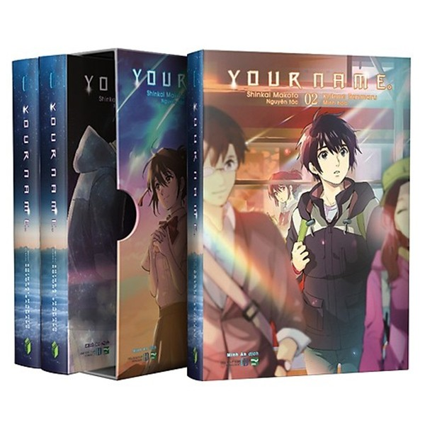 boxset your name - 3 tap