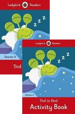 combo ladybird readers - ted in bed - level a