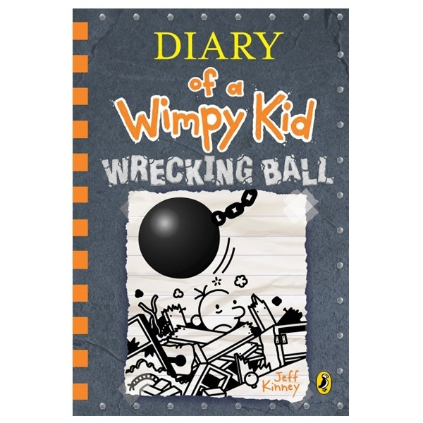 diary of a wimpy kid 14: wrecking ball hardback
