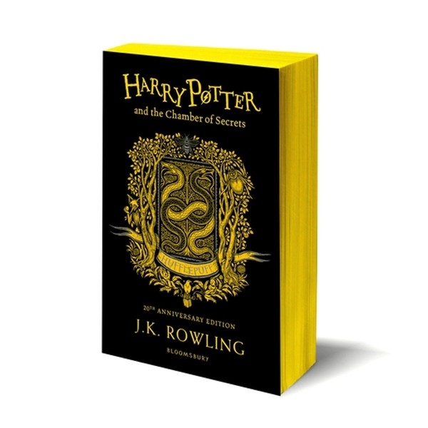 harry potter and the chamber of secrets – hufflepuff edition (paperback)