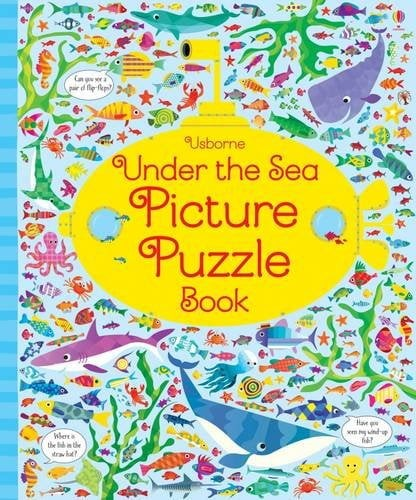 under the sea picture puzzle book (picture puzzles) hardcover