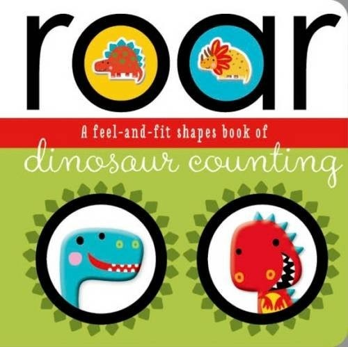 roar (feel and fit) board book - illustrated