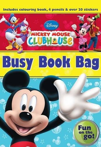 disney junior mickey mouse clubhouse busy book bag