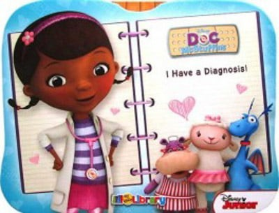 disney doc mcstuffins my little library