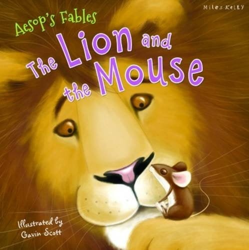c24 aesop: lion and the mouse