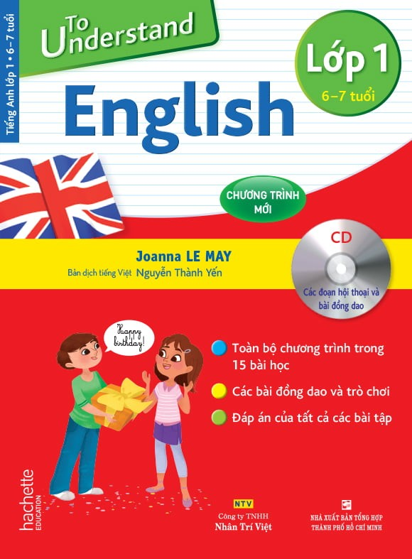to understand english - lop 1 (6-7 tuoi) (kem cd)