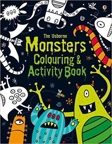 monsters colouring & activity book