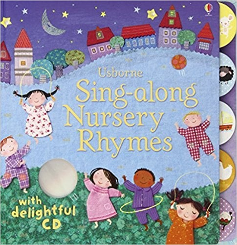 sing-along nursery rhymes + cd