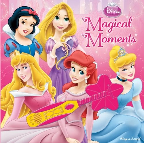 disney princess: magical moments (book and magic wand)