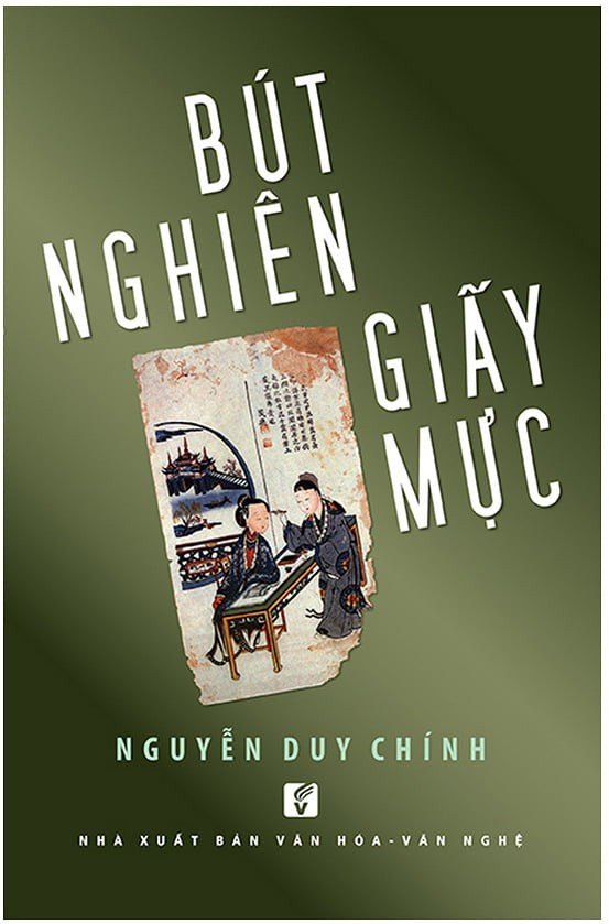but nghien giay muc