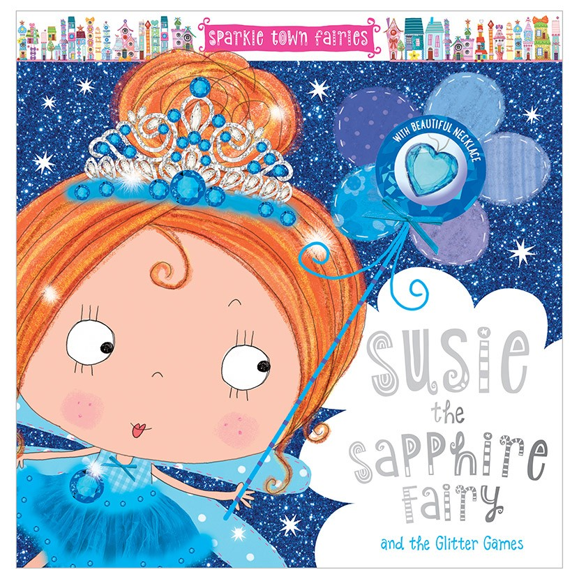 sparkle town fairies: susie the sapphire fairy pb