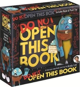 do not open this book & plush
