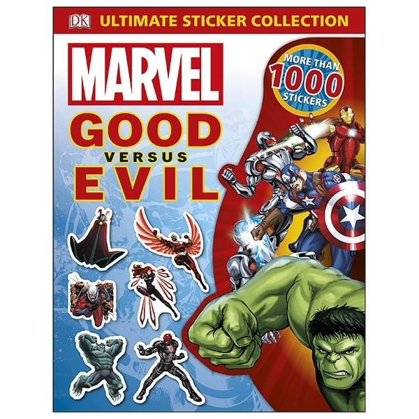marvel good vs evil: ultimate sticker collection