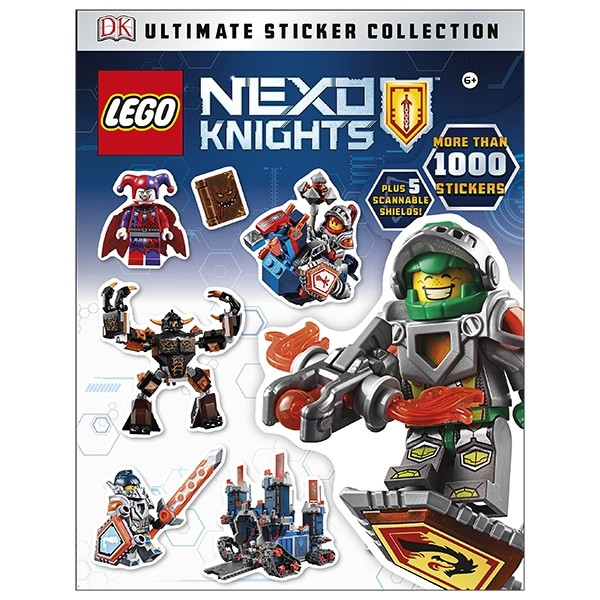 lego nexo knights: ultimate sticker collection