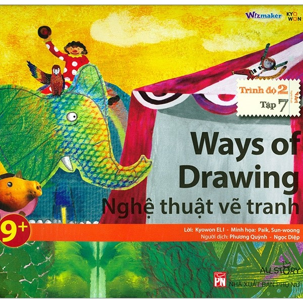 all story - ways of drawing - nghe thuat ve tranh (trinh do 2 - tap 7)