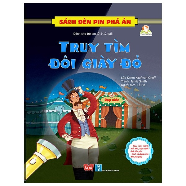 sach den pin pha an - truy tim doi giay do