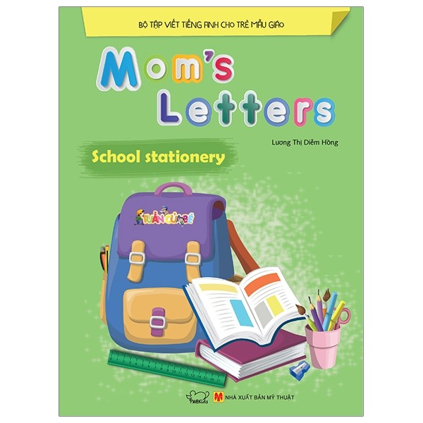 mom's letters - school stationery (tai ban 2018)