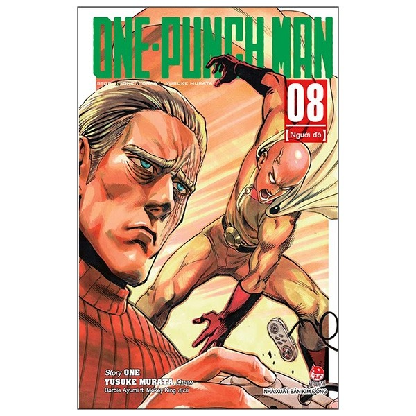 one-punch man tap 8: ke do (tai ban 2019)