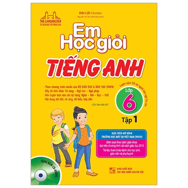 em hoc gioi tieng anh lop 6 tap 1 (tai ban 2019)