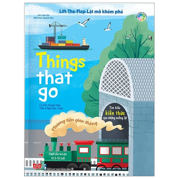 lift-the-flap - lat mo kham pha - things that go - phuong tien giao thong