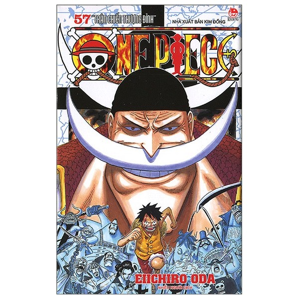 one piece tap 57: tran chien thuong dinh (tai ban 2019)