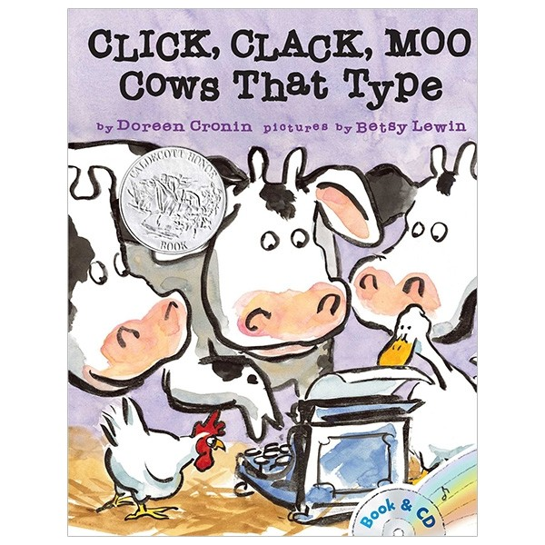 click, clack, moo: cows that type - with cd (audio)