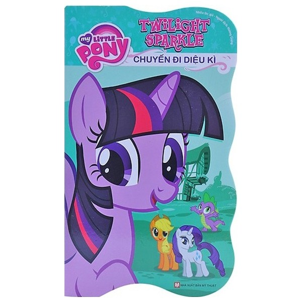 my little pony - twilight sparkle chuyen di dieu ki