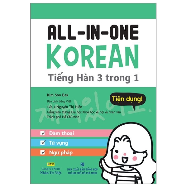 all-in-one korean - tieng han 3 trong 1