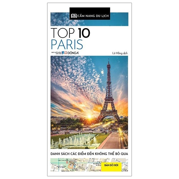 cam nang du lich - top 10 paris