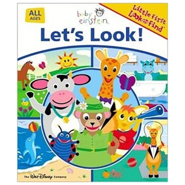 baby einstein let's look board book (little first look and find)