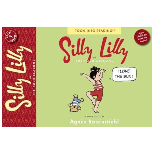 silly lilly and the four seasons (toon into reading!: level 1)