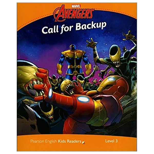 level 3: marvel's avengers: call for back up (pearson english kids readers)