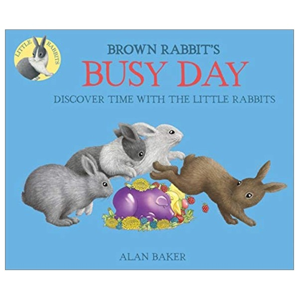 brown rabbit's busy day