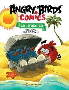 angry birds comics - mat troi choi chang