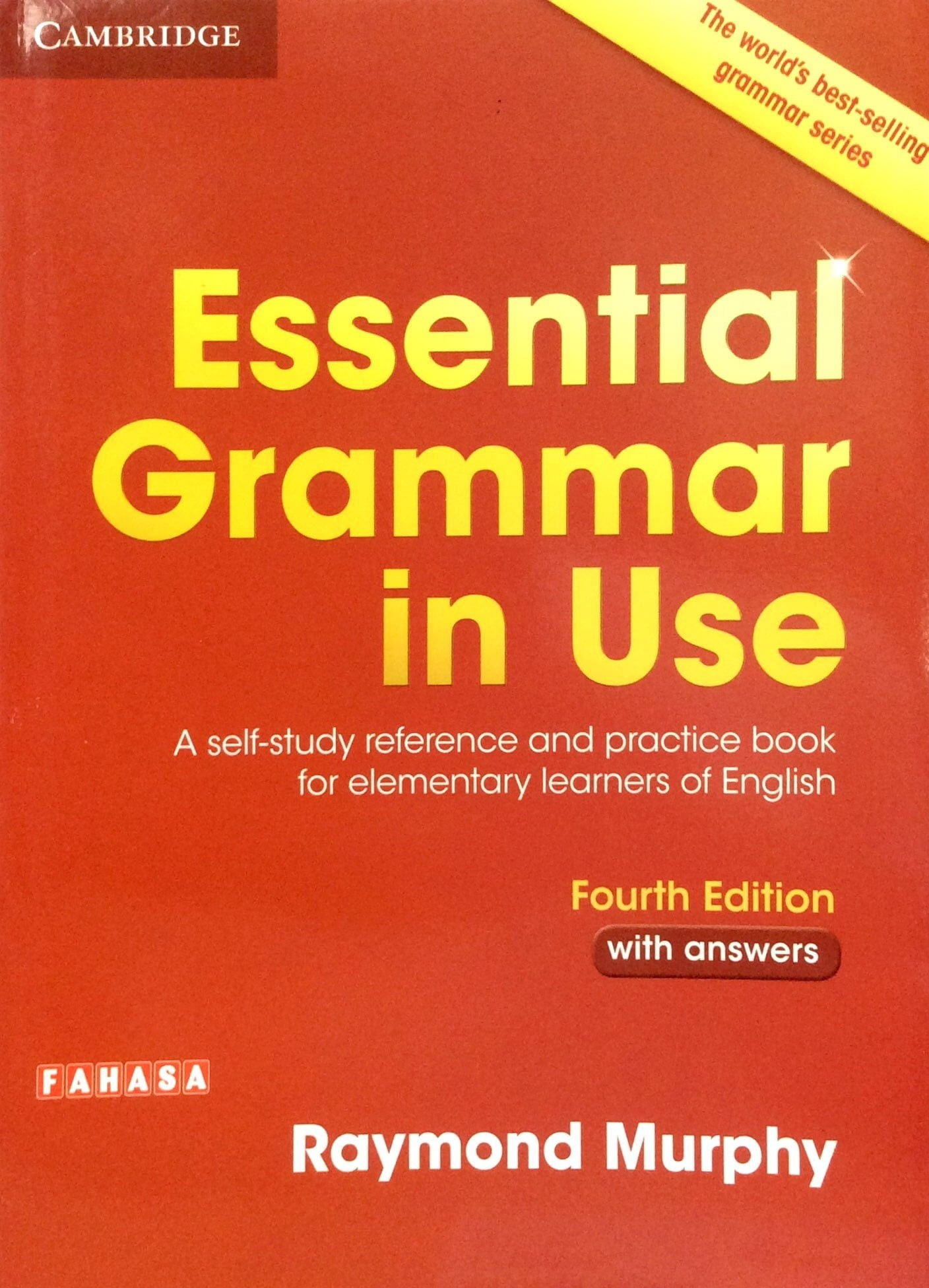Essential Grammar in Use Book with Answers Fahasa Reprint Edition: A  Self-Study Reference and Practice Book for Elementary Learners of English