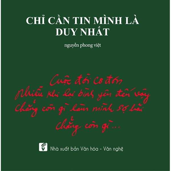 chi can tin minh la duy nhat