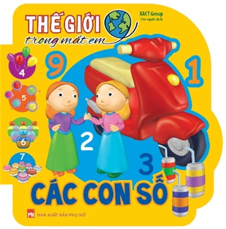 the gioi trong mat em - cac con so