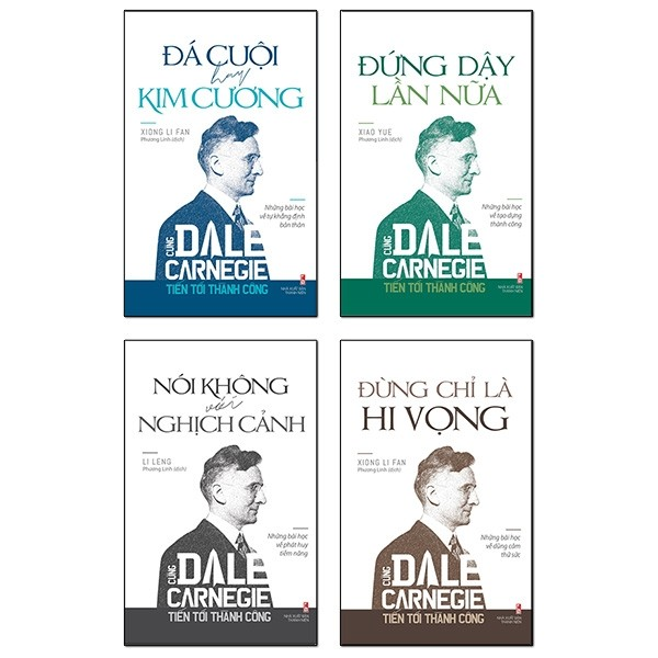 combo cung dale carnegie tien toi thanh cong (bo 4 cuon)