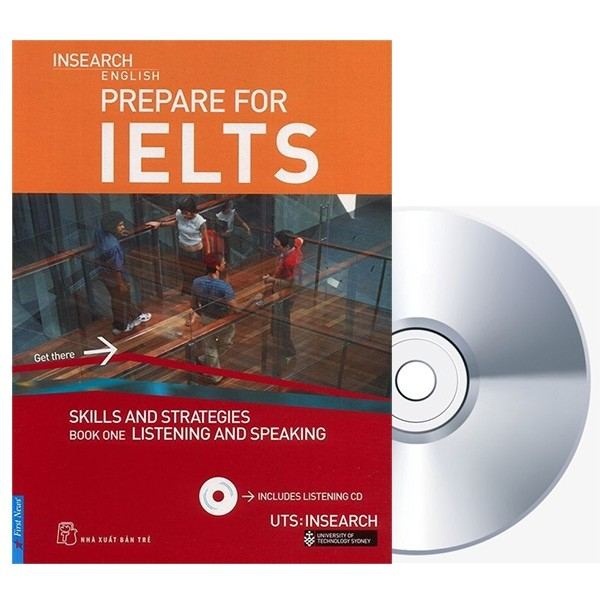 prepare for ielts: skill and strategies book one: listening and speaking + cd ielts skills