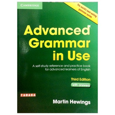 Advanced Grammar in Use Book with Answers Fahasa Reprint Edition: A Self-Study Reference and Practice Book for Advanced Learners of English