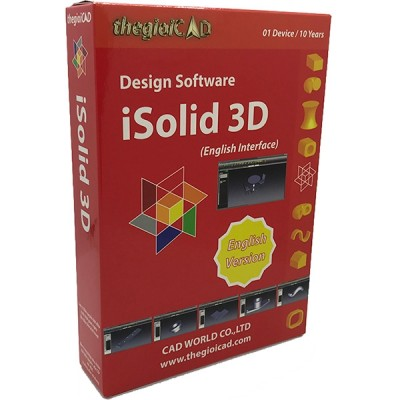 Phần Mềm Thiết Kế Isolid 3D (Tiếng Anh)