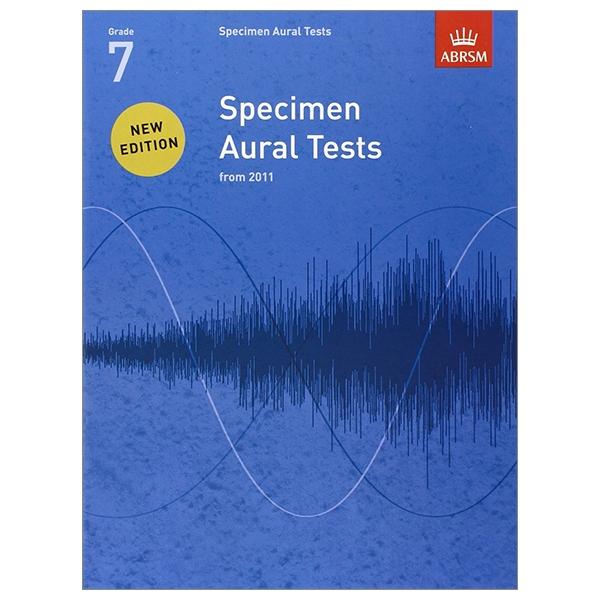 Specimen Aural Tests, Grade 7 (Specimen Aural Tests (ABRSM))
