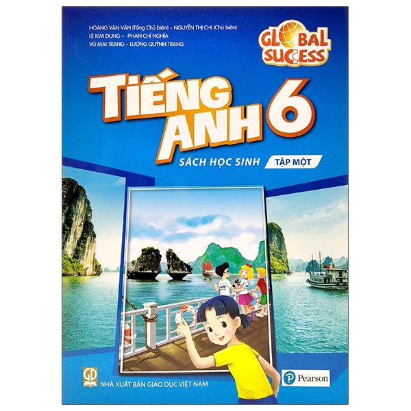 Tiếng Anh 6 – Sách Học Sinh – Tập Một (2021)