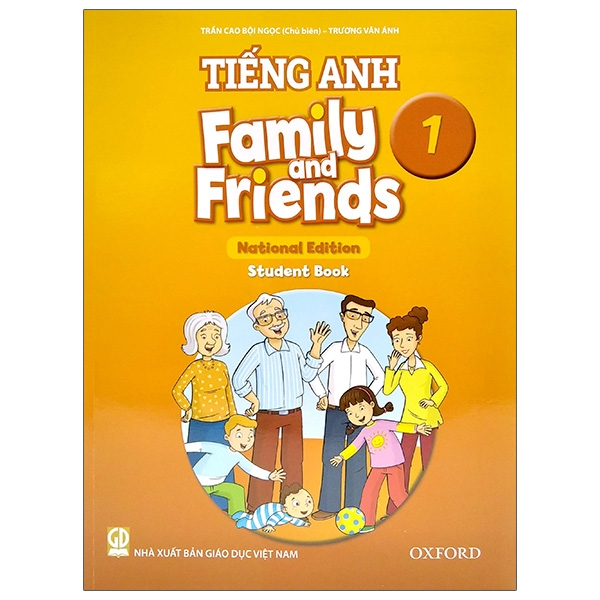 Tiếng Anh 1 – Family And Friends (National Edition) – Student Book