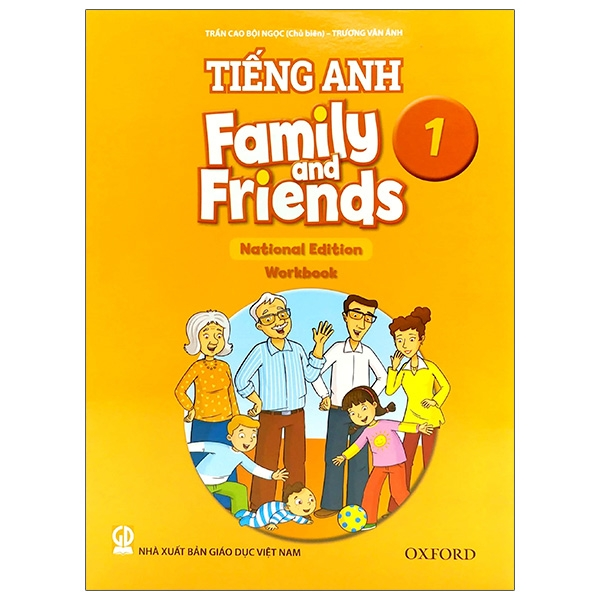 Tiếng Anh 1 – Family And Friends (National Edition) – Workbook