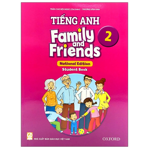Tiếng Anh 2 – Family And Friends (National Edition) – Student Book